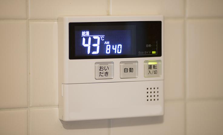 給湯器の設定温度