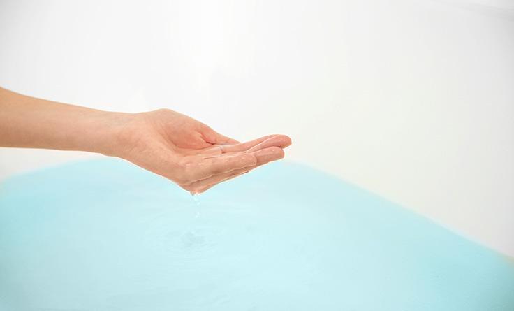 お風呂でリラックスできる主な理由