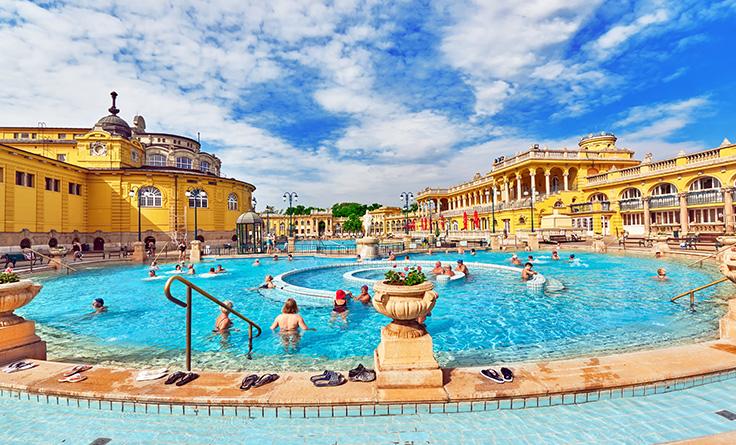 ブダペストを代表する公衆浴場 セーチェニ温泉