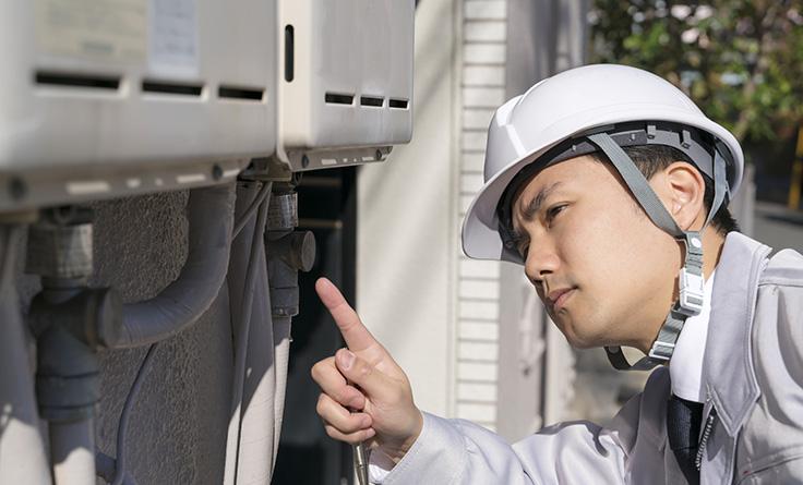 給湯器の配管カバーを取り付ける際の注意点